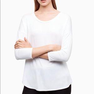 Aritzia Babaton Norris T-Shirt White Size S